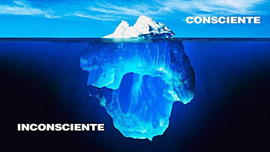 Resultado de imagem para consciente e inconsciente iceberg